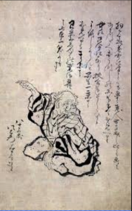 Hokusai autoritratto