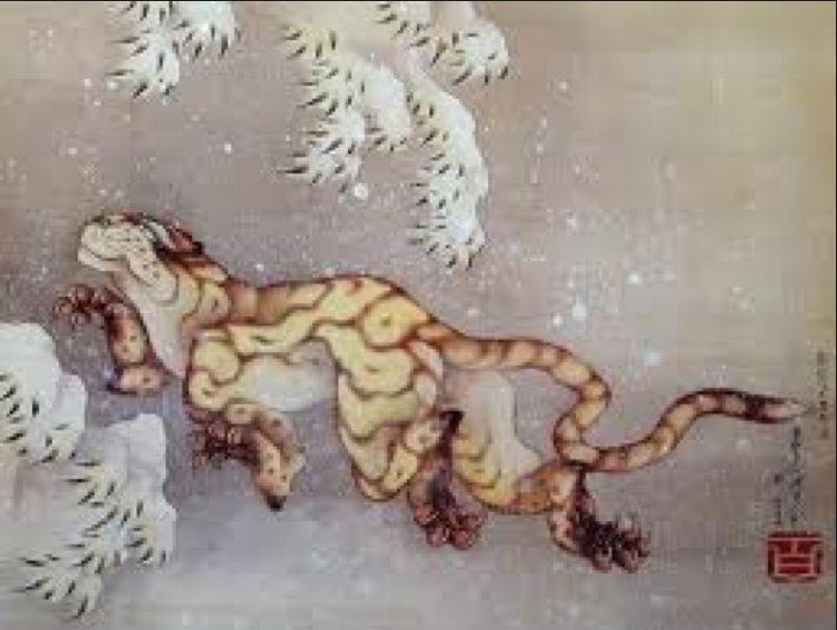 Tigre Hokusai