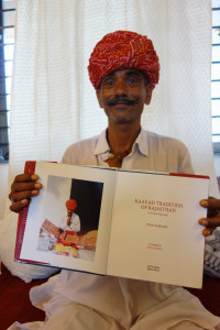Sx Pappuram Holding the book