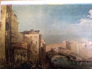 Guardi palazzo Barzizza da ovest