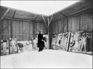 Munch neve angolo