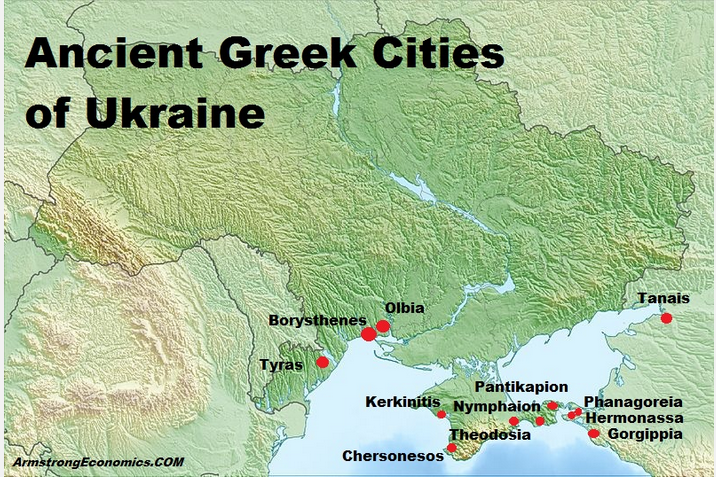 Olbia map 1