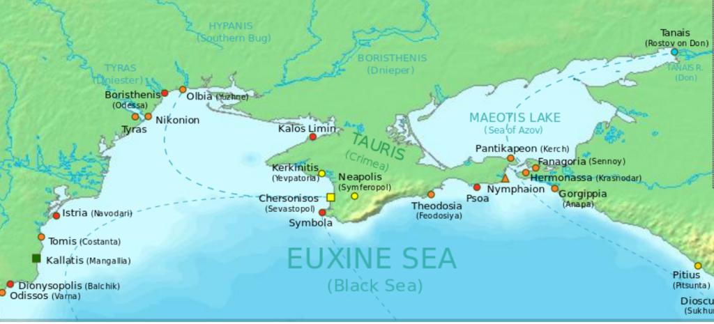 Olbia mappa 3