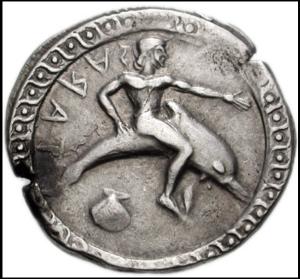 Taras moneta a D