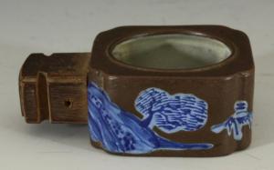 legno e blu