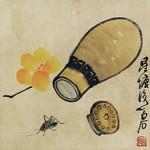 220px-Cricket_gourd_by_Qi_Baishi